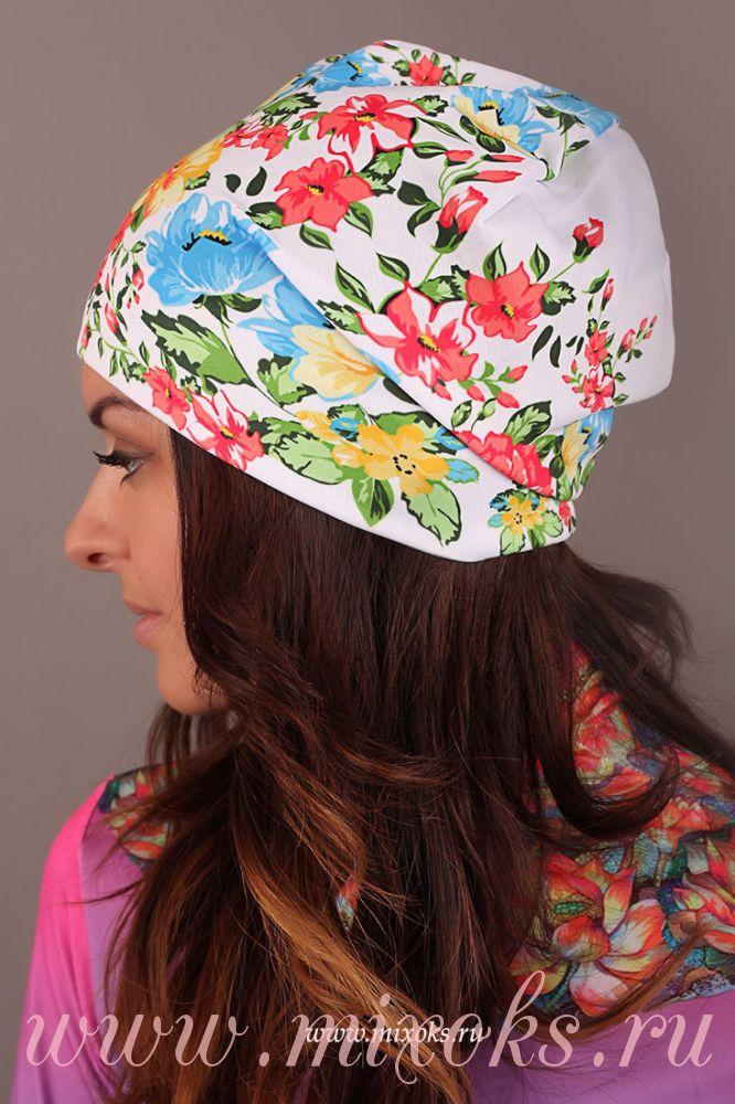 шапка русские узоры