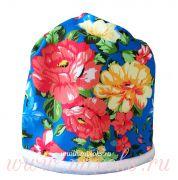 шапка-шарф русские узоры