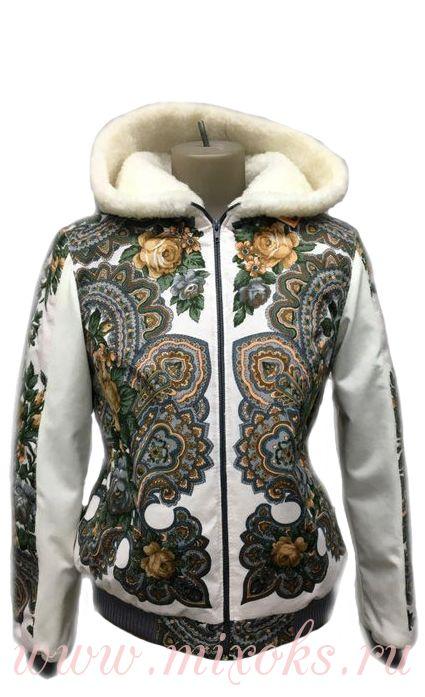 """Куртка на овчине """"Азалия"""""""